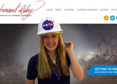 Mars Astronaut Abby New Website 2015
