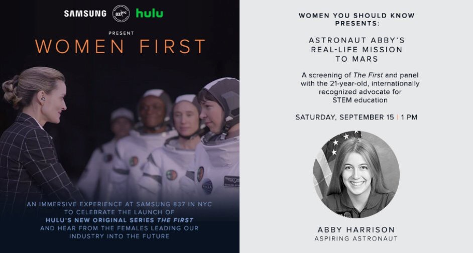 Hulu The First Astronaut Abby Women First