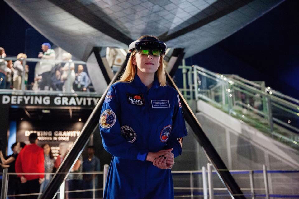 Astronaut Abby Defying Gravity Women in Space Microsoft
