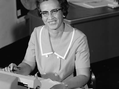 Astronaut Abby_11 Women Who Broke Barriers in the Space Industry_Katherine Johnson_2021