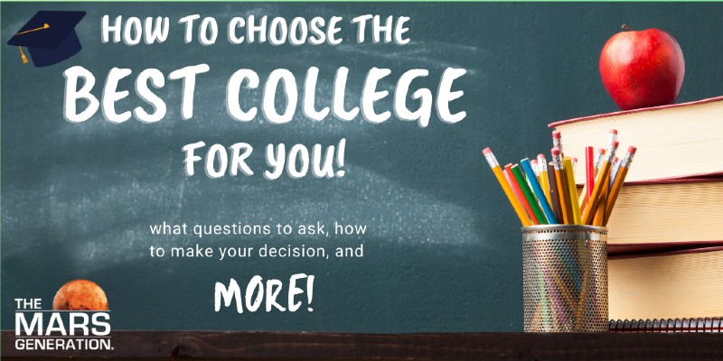The Mars Generation_How to Find the Best College for You: The Guide for the College-Bound Student_2021