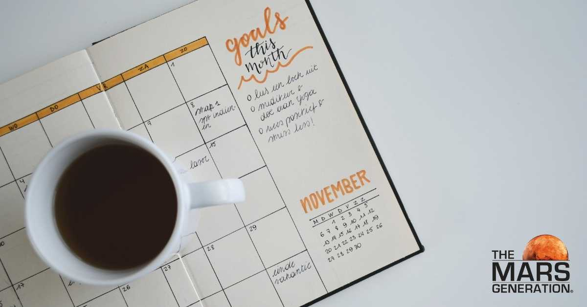 Astronaut Abby_How to Stop Procrastinating Today_Planning Goals_The Mars Generation