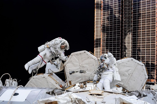 Astronaut Abby_Astronauts Time in Space_EVA Spacewalk_The Mars Generation