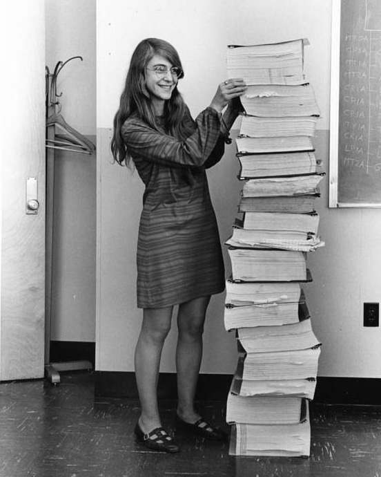 Astronaut Abby_Space and STEM Role Models for Girls_Margaret Hamilton Image