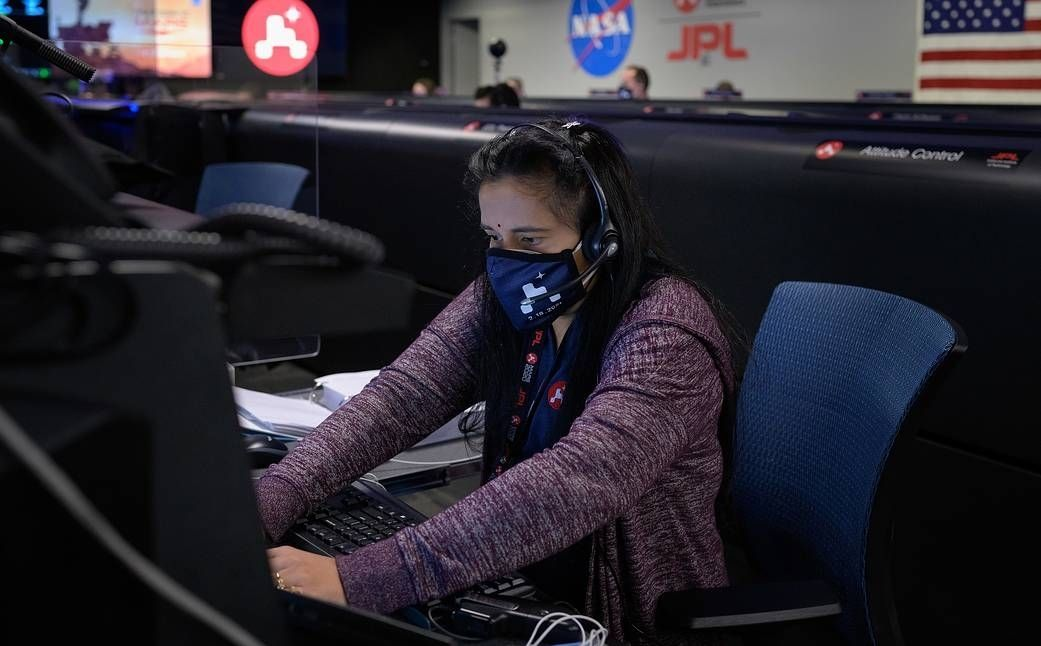 Astronaut Abby_Space and STEM Role Models for Girls_Swati Mohan Image