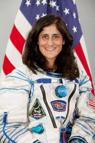 Astronaut Abby_Space and STEM Role Models for Girls_Sunita Williams Image