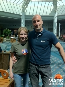 Astronaut Abby_Abigail Harrison and Luca Parmitano Image_Fears of Astronauts